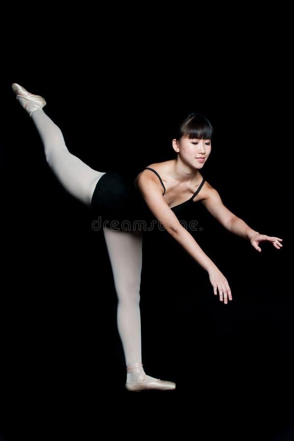 Женская балерина стоковое фото rf