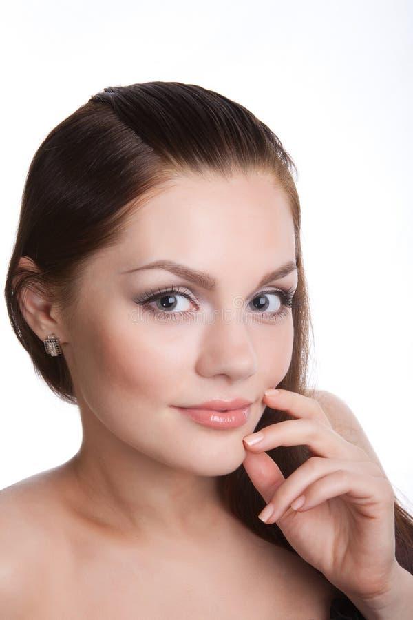 женская белизна стоковое изображение rf