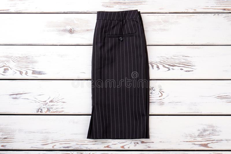 Женская официально юбка стиля стоковые изображения rf