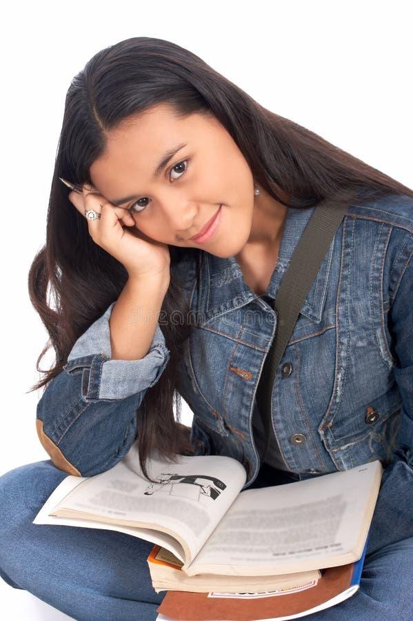 женская средняя школа Стоковые Изображения