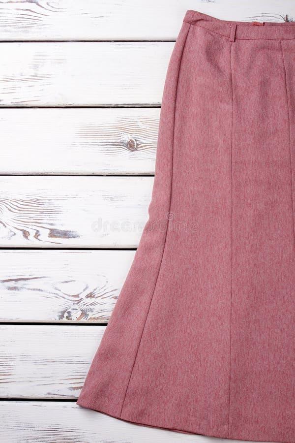 Женская юбка хлопка, космос экземпляра стоковые изображения