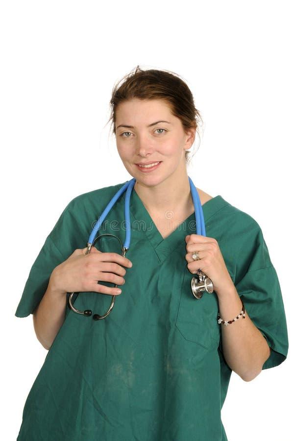 Женские доктор или нюна стоковое изображение