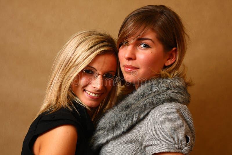 женские друзья 2 стоковые изображения