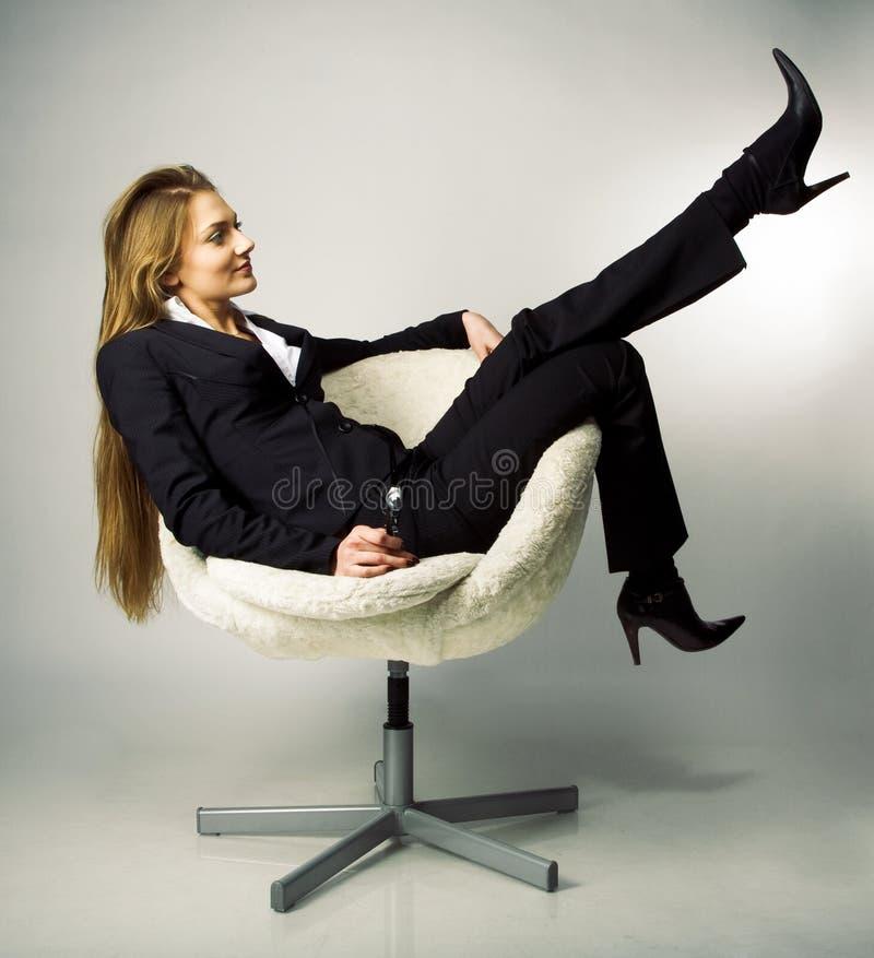 женские перерывы менеджера стоковая фотография