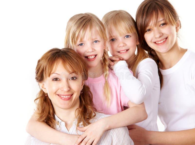 Женские поколения стоковое изображение