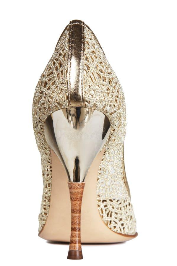 женские openwork ботинки стоковое фото