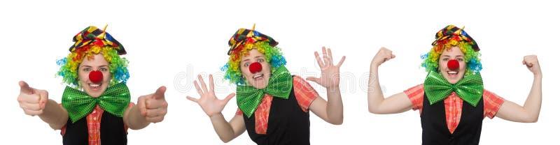 Женский клоун стоковые фото