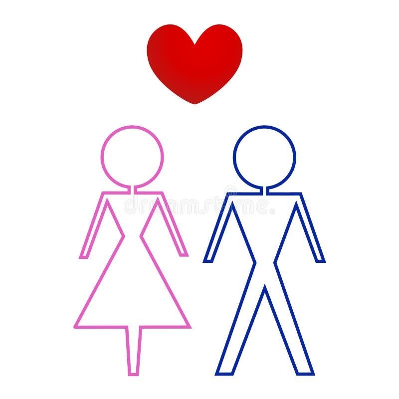 женский мыжской wc знака бесплатная иллюстрация