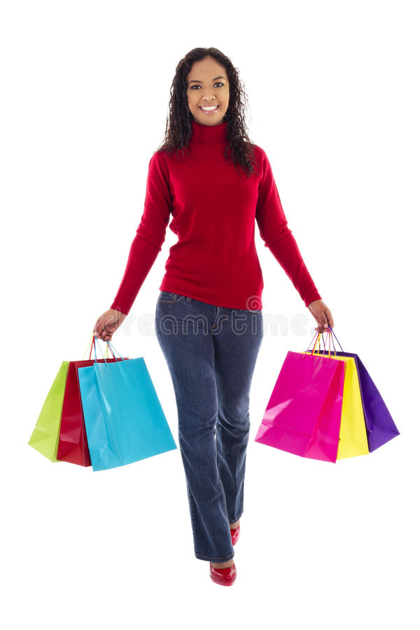 женский покупатель стоковые изображения