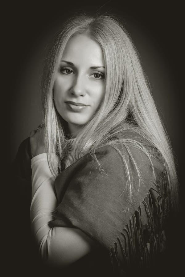 Женский портрет. стоковая фотография rf