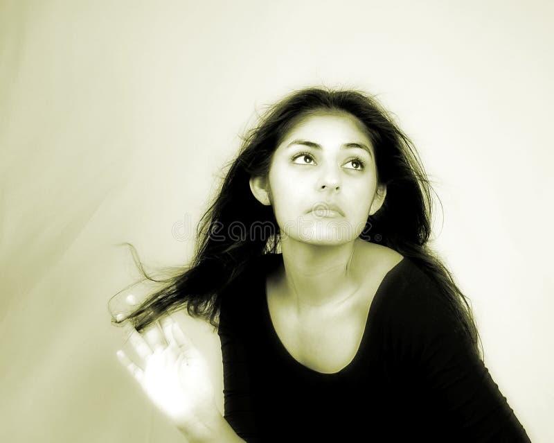 женский портрет Стоковое фото RF