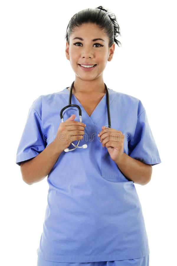 Женский работник здравоохранения стоковая фотография