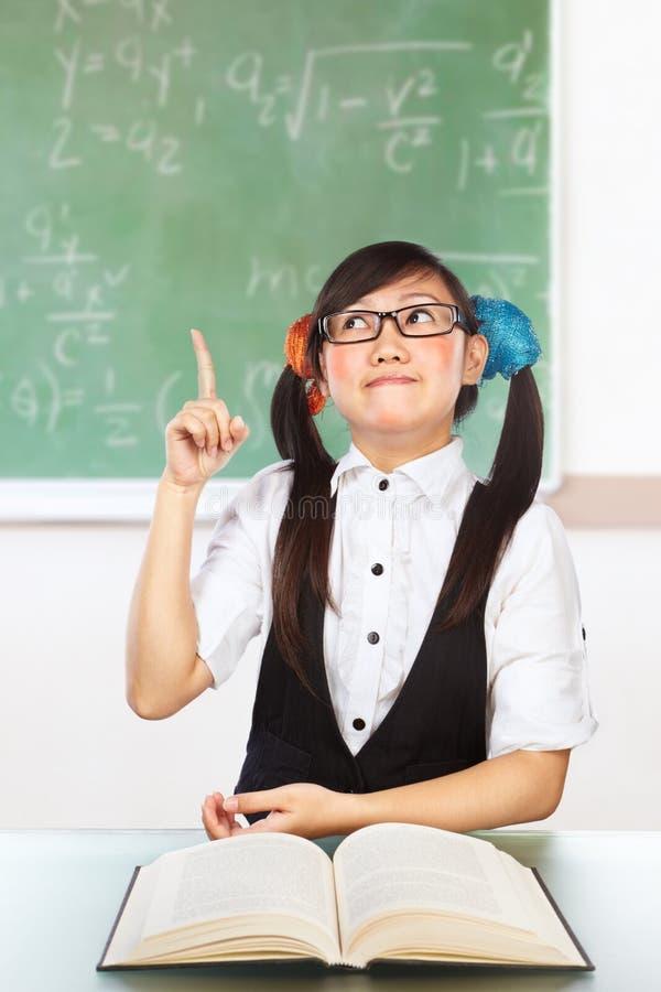 женский студент болвана стоковое фото rf