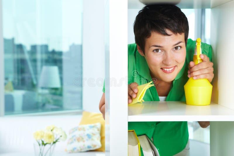 женский усмехаться стоковая фотография rf