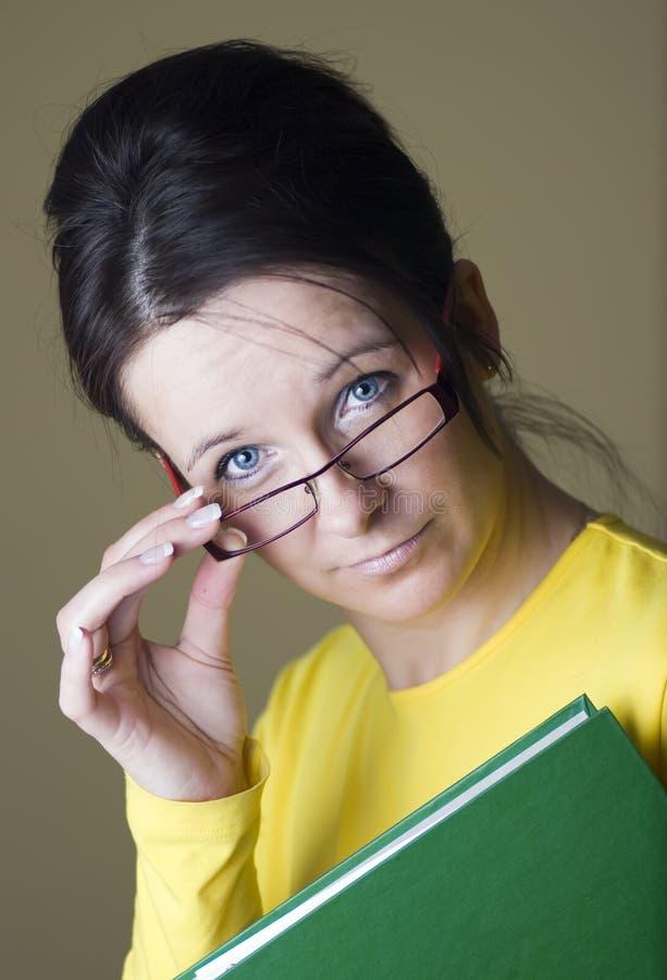 женский учитель стоковое изображение rf