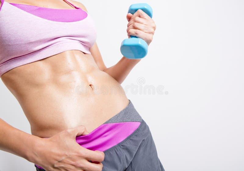 Женский фитнес стоковое фото rf