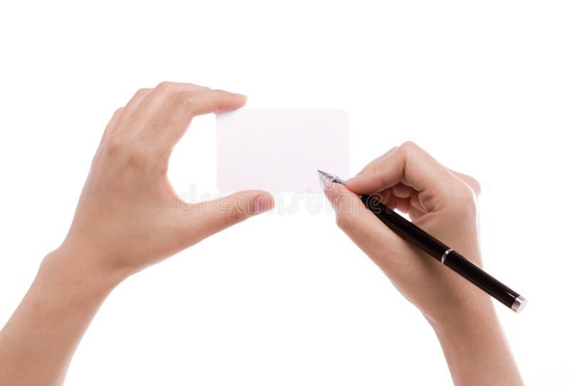 женское пер руки стоковая фотография rf