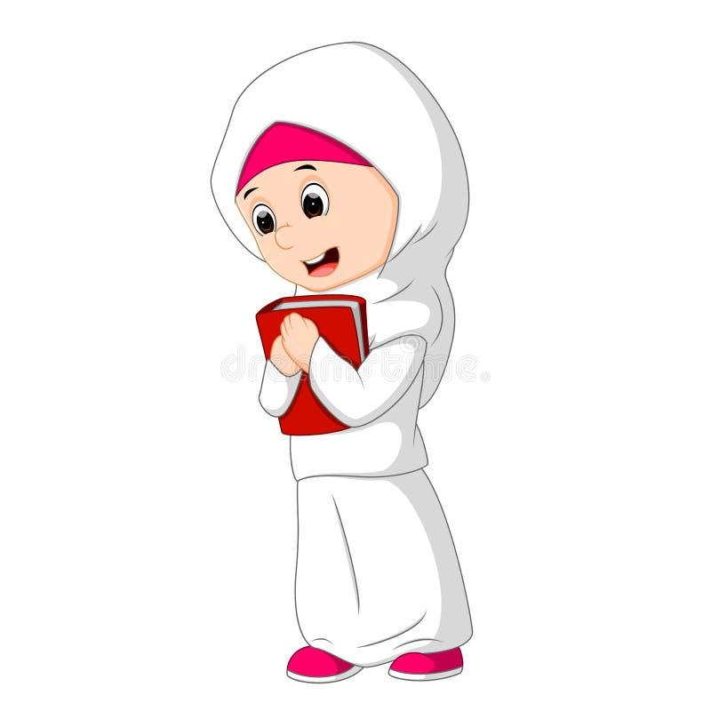 Женское положение мусульман иллюстрация вектора