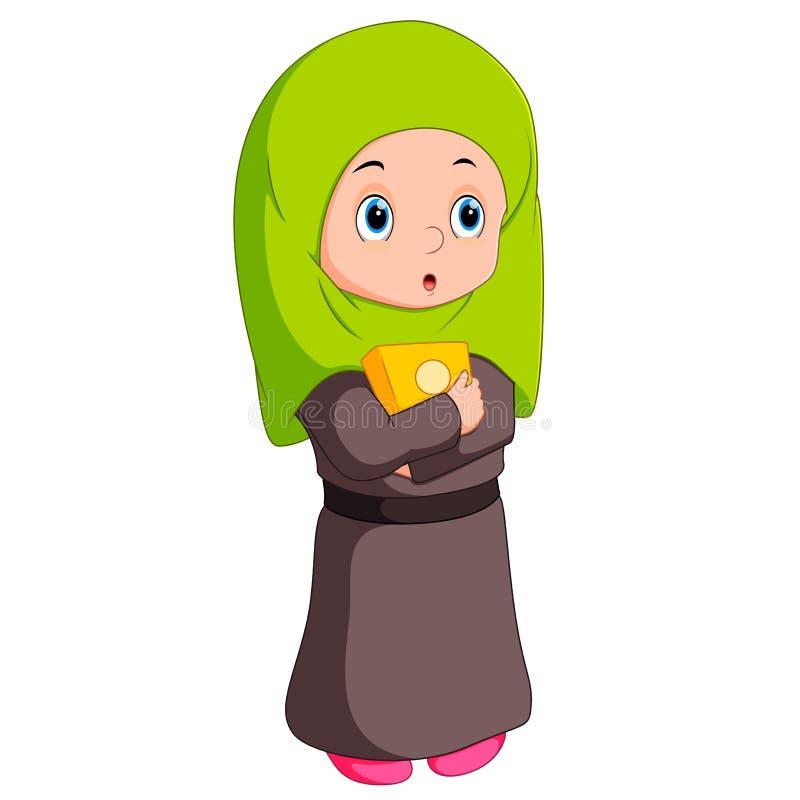 Женское положение мусульман иллюстрация штока
