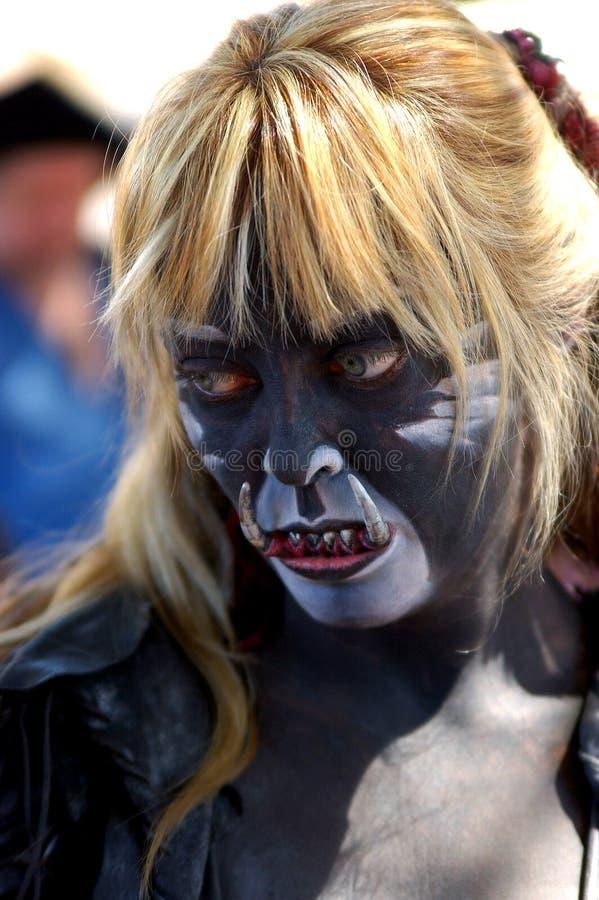 женское trol стоковая фотография rf