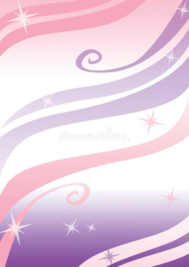 женственный шаблон рогульки иллюстрация штока