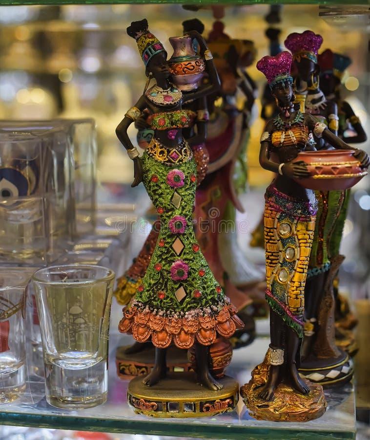 Женщина африканца статуэтки стоковое фото rf