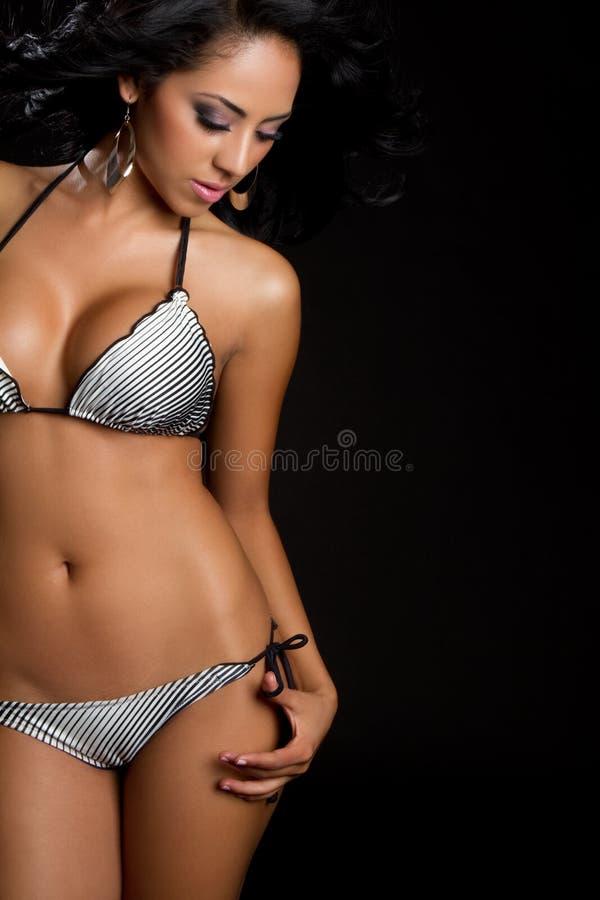 женщина бикини стоковые изображения