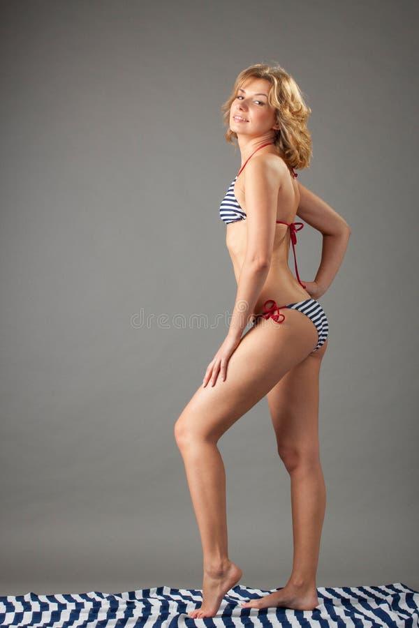 женщина бикини стоковые фото