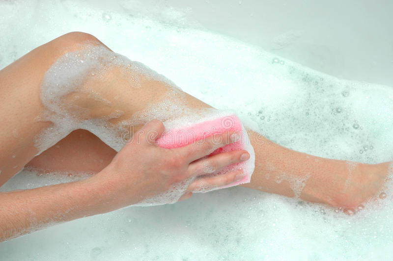 женщина ванны s стоковое фото rf