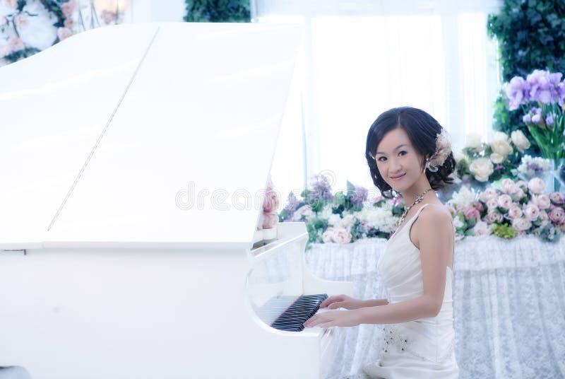 женщина венчания портрета стоковое изображение rf
