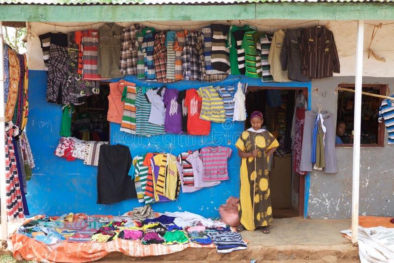 Африканский магазин стоковое изображение
