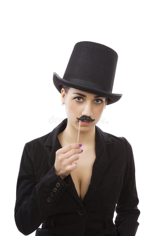 Женщина в деле стоковое изображение