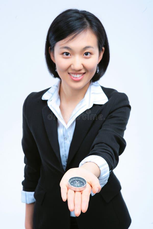 Женщина в деле IV стоковое изображение rf