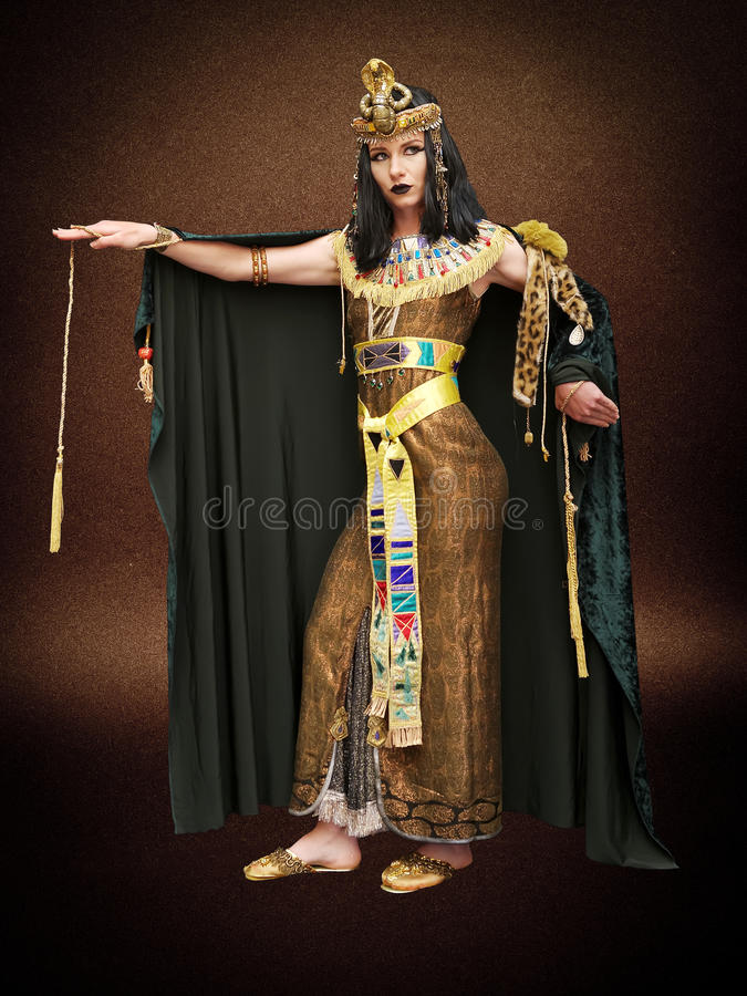 Женщина в типе Cleopatra стоковые изображения rf