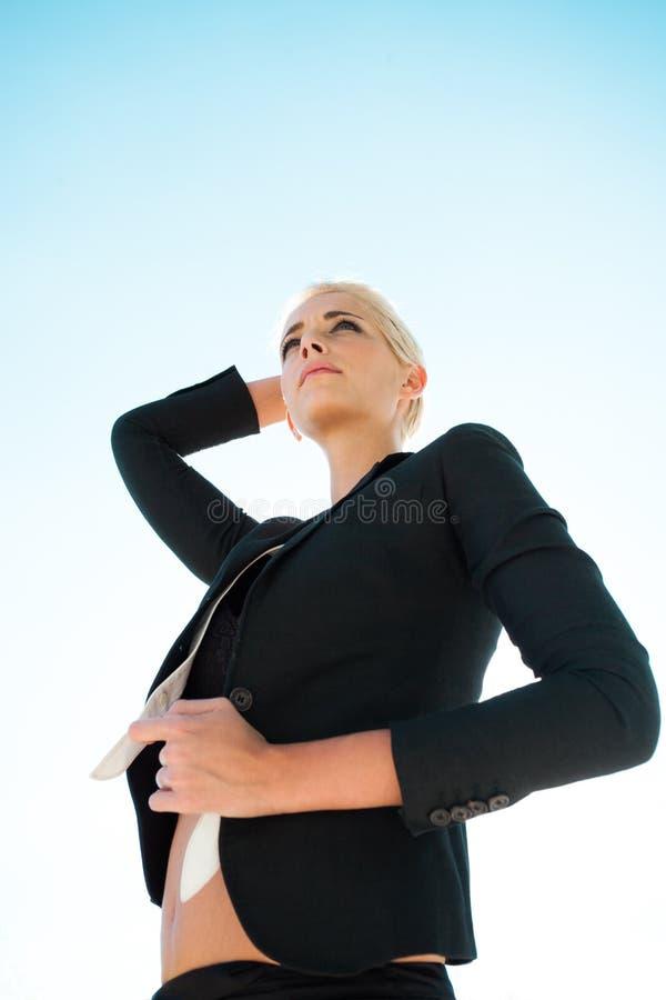 Женщина города стоковое фото