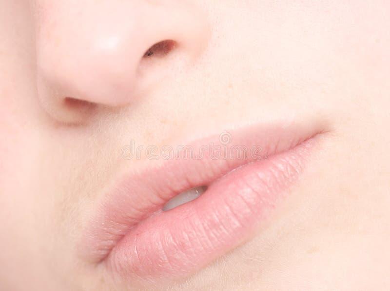 женщина губ стоковое фото rf