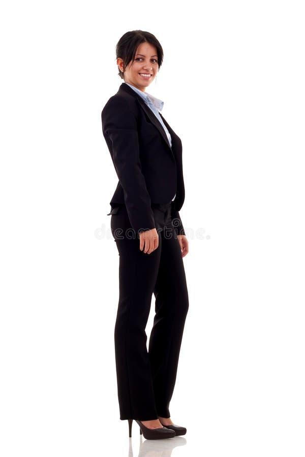 женщина дела уверенно стоковое изображение rf
