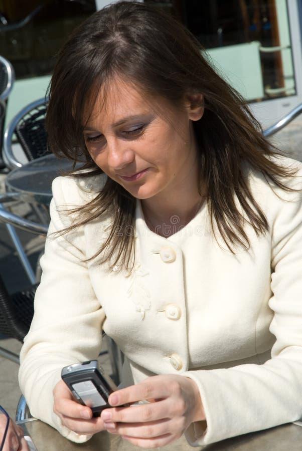 женщина дела стоковое изображение rf