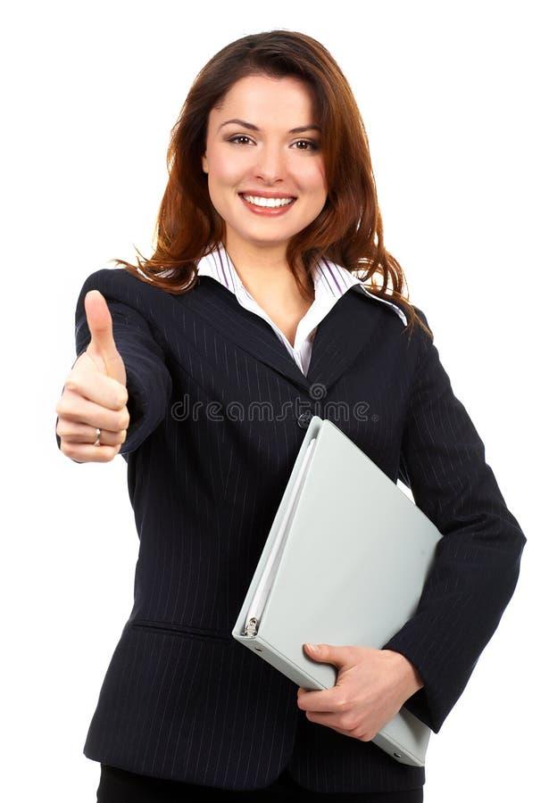 Download женщина дела стоковое фото. изображение насчитывающей бело - 6853186