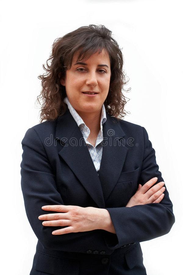 женщина дела стоковая фотография