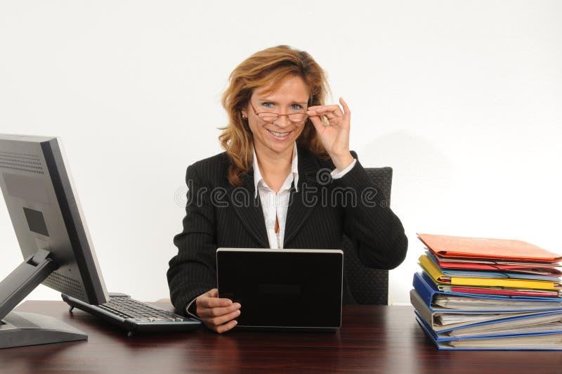 женщина дела стоковое изображение