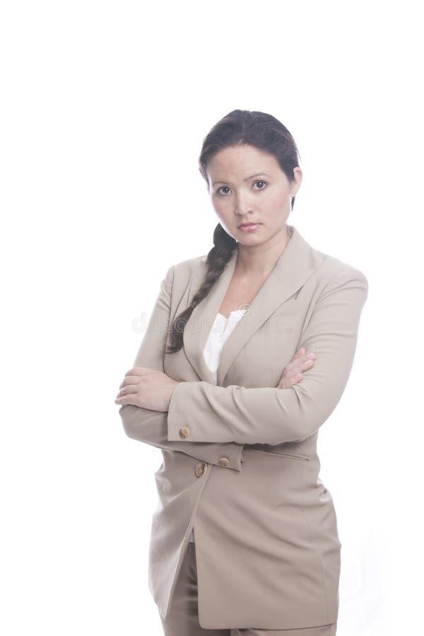 женщина дела upset стоковая фотография rf