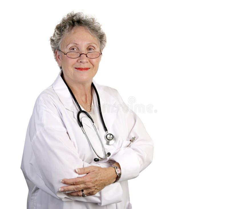 женщина доктора возмужалая стоковая фотография