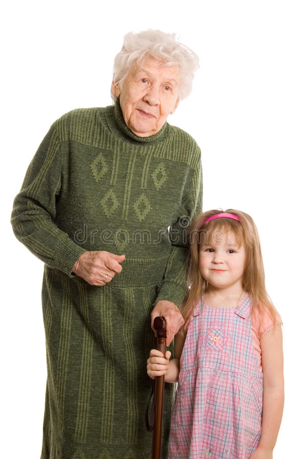 женщина дочи пожилая грандиозная стоковое изображение rf