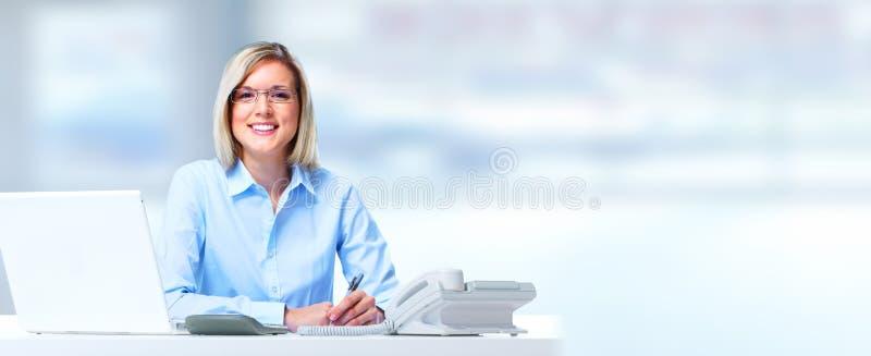женщина дела 2 стоковое изображение rf