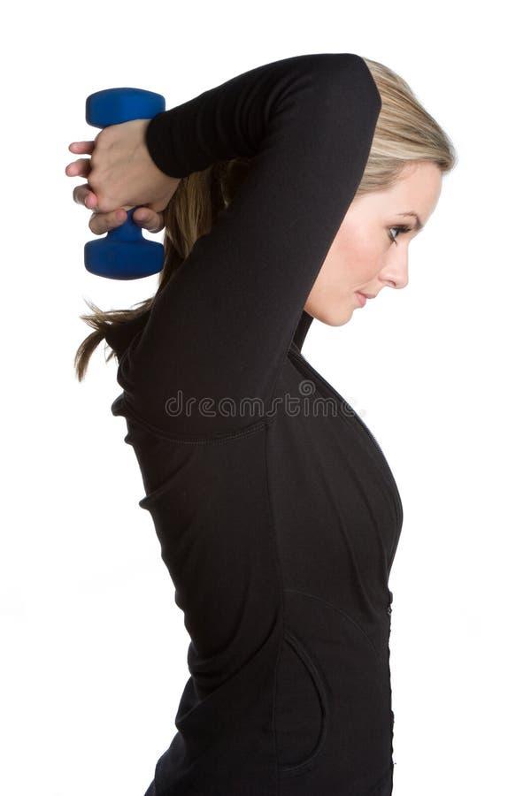 женщина здоровья пригодности стоковые изображения rf