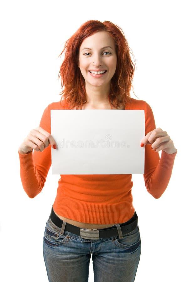 женщина знака стоковые изображения