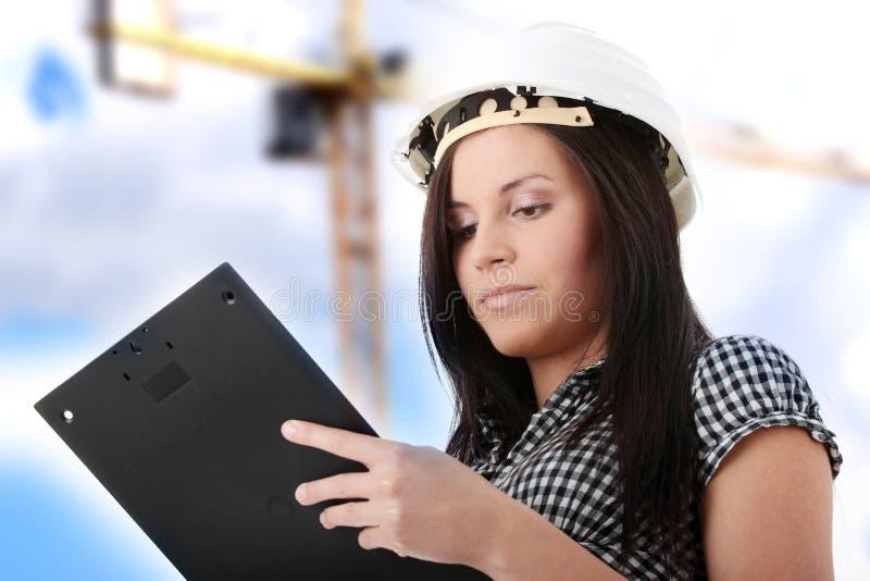 женщина инженера стоковые фото