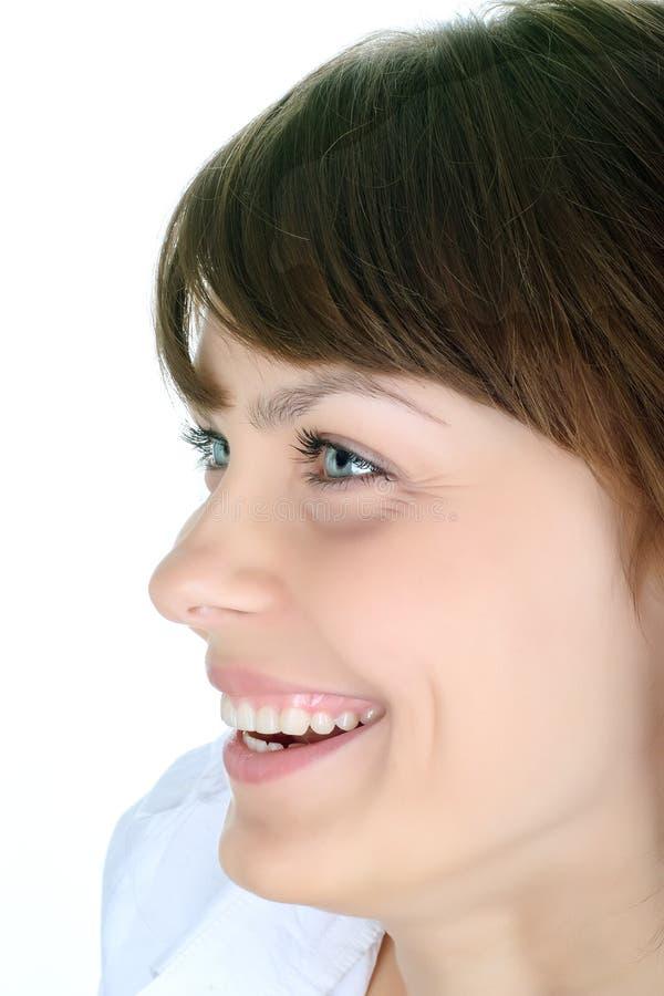 женщина красивейшего счастливого портрета сь стоковое изображение rf