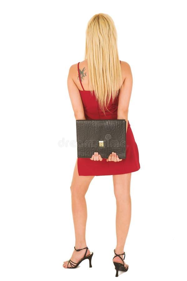 женщина красного цвета 125 дел стоковое фото
